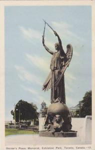 Shriner's Peace Monument, Exhibition Park , TORONTO , Ontario , Canada , 30-40s