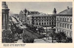 BR71071 beograd belgrade rue de miloch le grand serbia