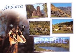 Postcard Modern Andorra