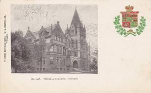 Victoria College & Coat of Arms, Toronto, Ontario, Canada, 00-10s