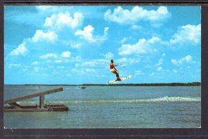 Water Skiing on Lake Texoma,TX