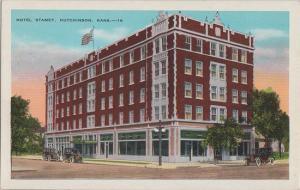 HUTCHINSON Kansas - HOTEL STAMEY 1920s era / Now low income housing