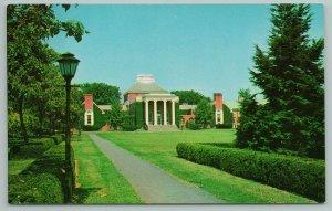 Newark Delaware~University of Delaware Memorial Library~Vintage Postcard