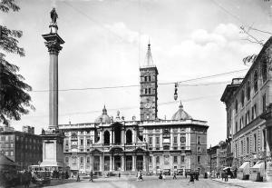 Italy Roma Basilica di S. Maria Maggiore Basilique Statue