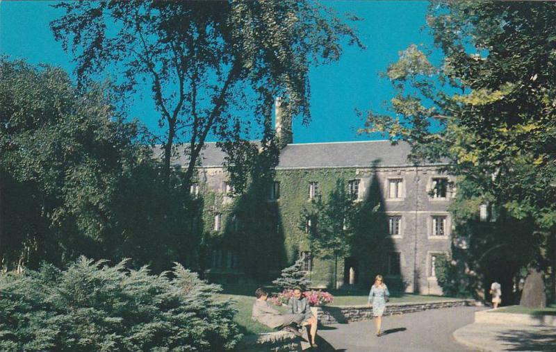 Campus Scene At Victoria College Of The University Of Toronto, Toronto, Ontar...