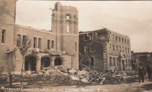 RP: Cyclone Damage , REGINA , Sask., Canada , 1912 ; ME Church & YWCA