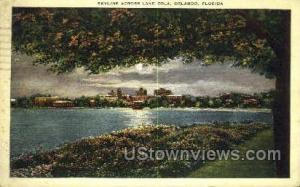 Lake Eola Orlando FL 1938