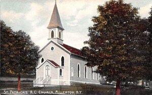 St Patrick's RC Church in Millerton, New York
