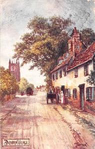 Dedham Village Street Horse Carriage 1905