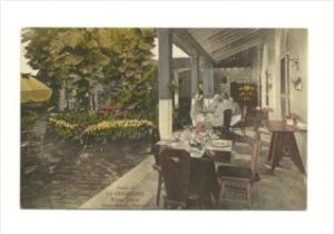Florida  Palm Beach  La Chaumiere  Hotel  Patio Dinning