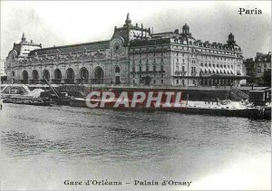 Modern Postcard Paris Gare d'Orsay Palais Orleans