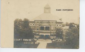KINGSTON, MISSOURI COURT HOUSE, RPPC REAL PHOTO POSTCARD