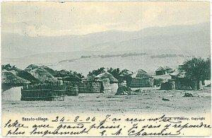 ETHNIC VINTAGE POSTCARD: SOUTH AFRICA - Basutoland 1904