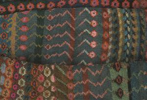 Kaffe Fossett Details Of A Handknit Cardigan Knitting Photo Art Postcard