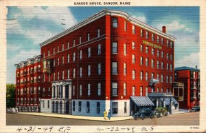 Maine Bangor The Bangor House 1948