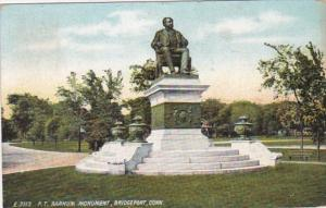 Connecticut Bridgeport P T Barnum Monument 1908