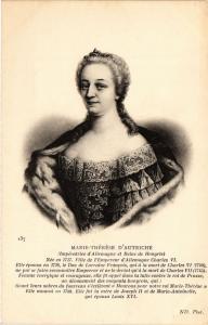 CPA Marie Thérése d'Autriche Royalty Nobelty (314977)