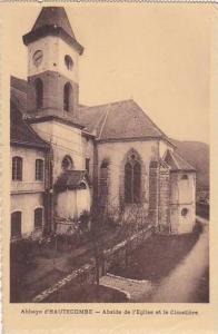 France Abbaye d'Hautecombe Abside de l'Eglise et le Cimetiere