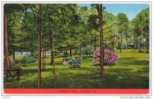 Highland Park Altoona Pennsylvania 30´s - 40´s