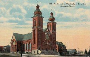 SPOKANE , Washington , 1900-10s ; Cathedral of Our Lady of Lourdes