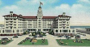 Postcard Early View of Monterey Hotel Resort in Asbury Park, N.J.       R1.