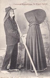 S. MIGUEL-ACORES, Portugal, 1900-1910's; Costumes Michaelenses