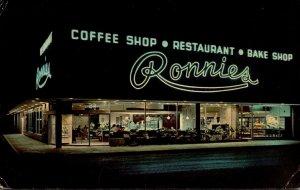 Florida Orlando Ronnie's Restaurant and Coffee Shop 1973