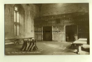 tp5857 - Kent - The Barons Hall in Penshurst Place Manor House  - Postcard