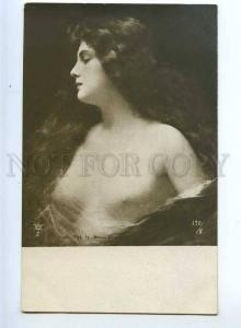 214879 NUDE Belle Woman Long Hair by Angelo ASTI Vintage PC
