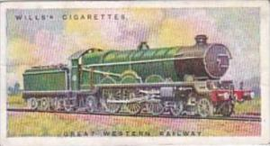 Wills Cigarette Card Railway Engines No 2 Great Western Railway