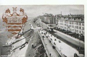Lancashire Postcard - Promenades - Blackpool - Ref 10687A