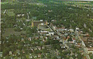 Pennsylvania Bucks County Aerial View Of Doylestown