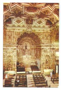 Brasil Salvador Igreja Sao Francisco Interior 1973 4X6