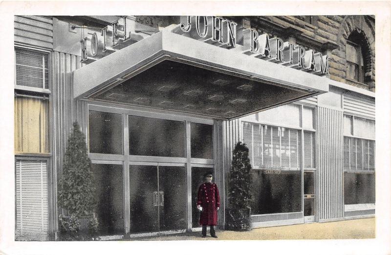Philadelphia Pennsylvaniajohn Bartram Hoteldoorman Front Door