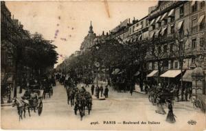 CPA Paris 9e - Boulevard des Italiens (273706)