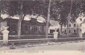 France Uriage Les Bains L'Hotel du Midi