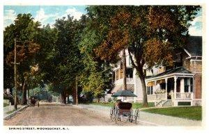 Rhode Island Woonsocket , Spring Street