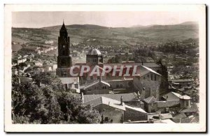 Old Postcard Le Puy The cathedral and general view