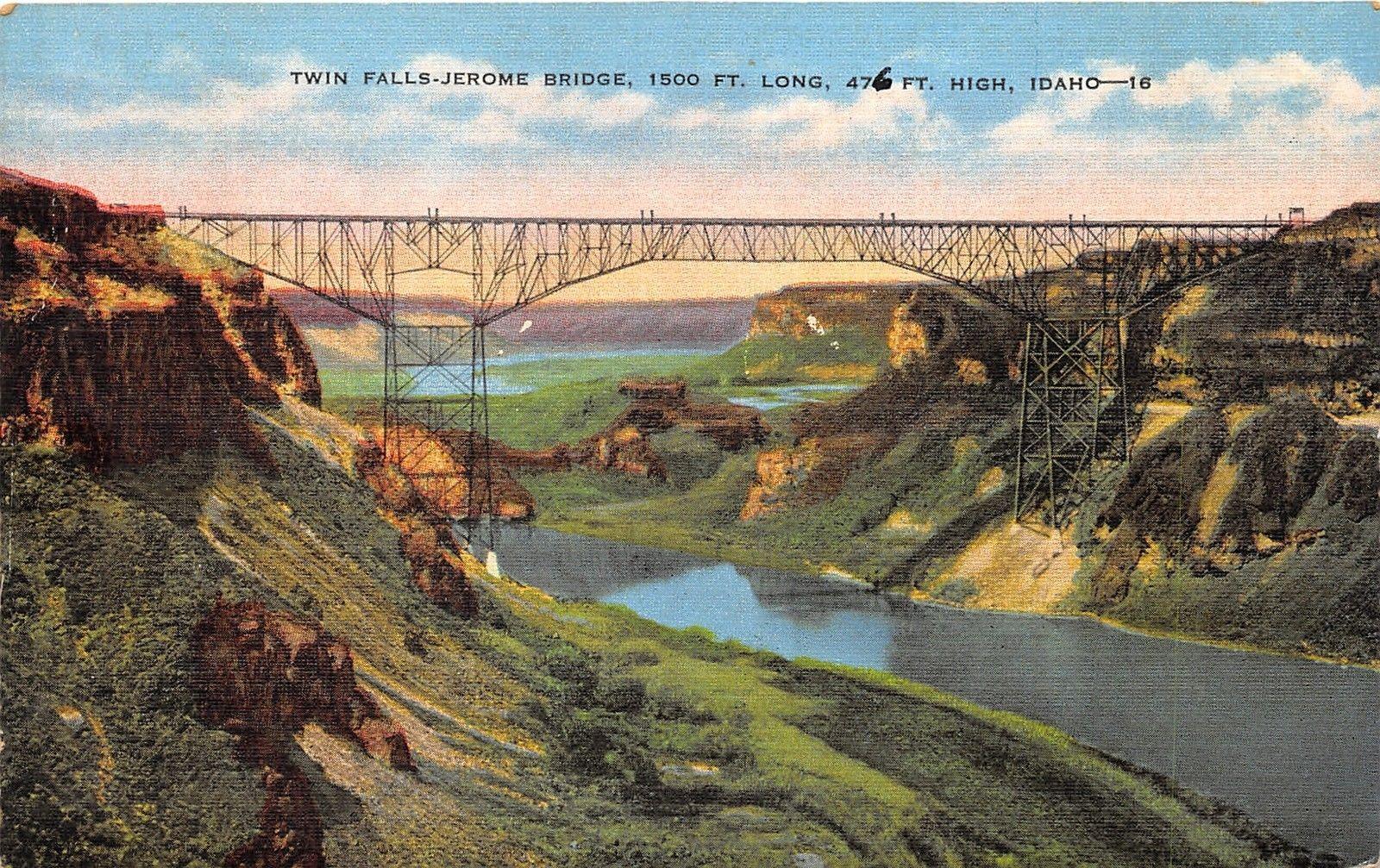 Twin Falls Idahoi B Perrine Bridge Twin Falls Jerome On Snake