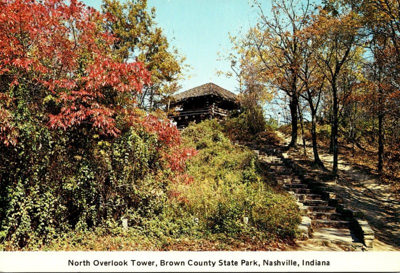 Indiana Nashville North Overlook Tower Brown County State Park
