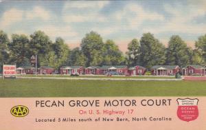 NEW BERN,  North Carolina , 1930-40s; Pecan Grove Motor Court