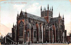 St Mary's Cathedral Sydney Australia Unused