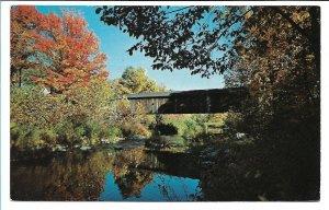 Grafton, VT - Old Covered Bridge - Spanning Saxtons River - 1964