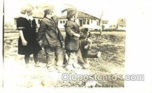 Children With Teddy Bear Postcard Postcards