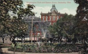 Ohio Sandusky Washington Park and Sloane House