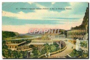 Old Postcard Vienna Roman Era Rey table in the Museum of Vienna
