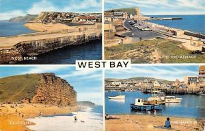 West Bay, The Promenade The Harbour East Cliff West Beach
