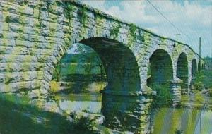 Tennessee Fayetteville Historivcal Old Stone Bridge