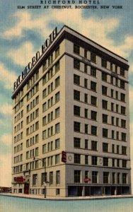 New York Rochester Richford Hotel Curteich