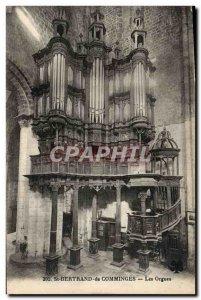 Old Postcard Organ Saint Bertrand de Comminges Organs